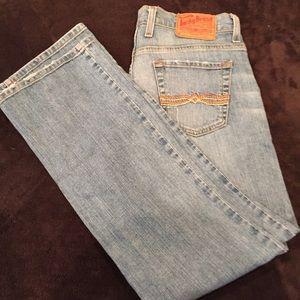Lucky Brand Jeans by: Gene Montesano 6/28 Lt.Wash